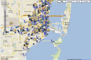 miami florida crime map