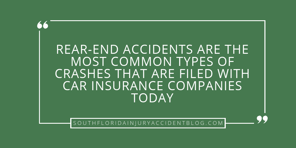 Rear-End Collisions In Florida | South Florida Personal Injury & Car