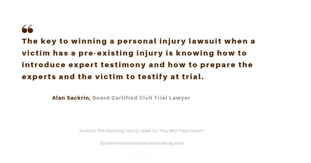The way to win your case is with expert testimony and preparing the victim and the expert on how to testify at trial.